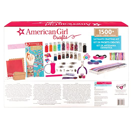 Amazon Com American Girl 24118 Ultimate Crafting Super Set 1500