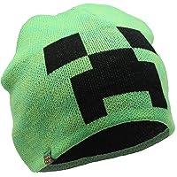 Minecraft. Cappello Creeper Bambino Cappelli per Ragazzo Invernali