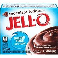 Jello Sugar Free Chocolate Fudge Pudding Mix 28g