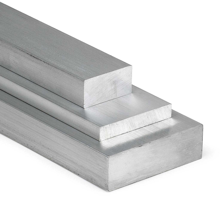 35cm auf Zuschnitt Aluminium Flachstange AlCuMgPb 50x5mm L/änge 350mm