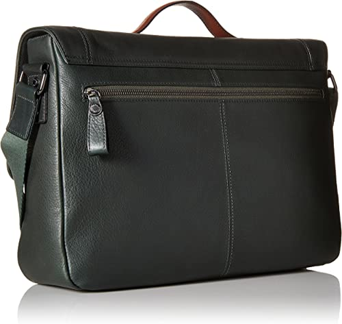 Ted Baker Men s Colour Block Messenger Bag, Green, One Size