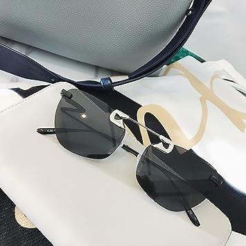 VVIIYJ Gafas gafas de sol sin marco de un solo haz Película ...