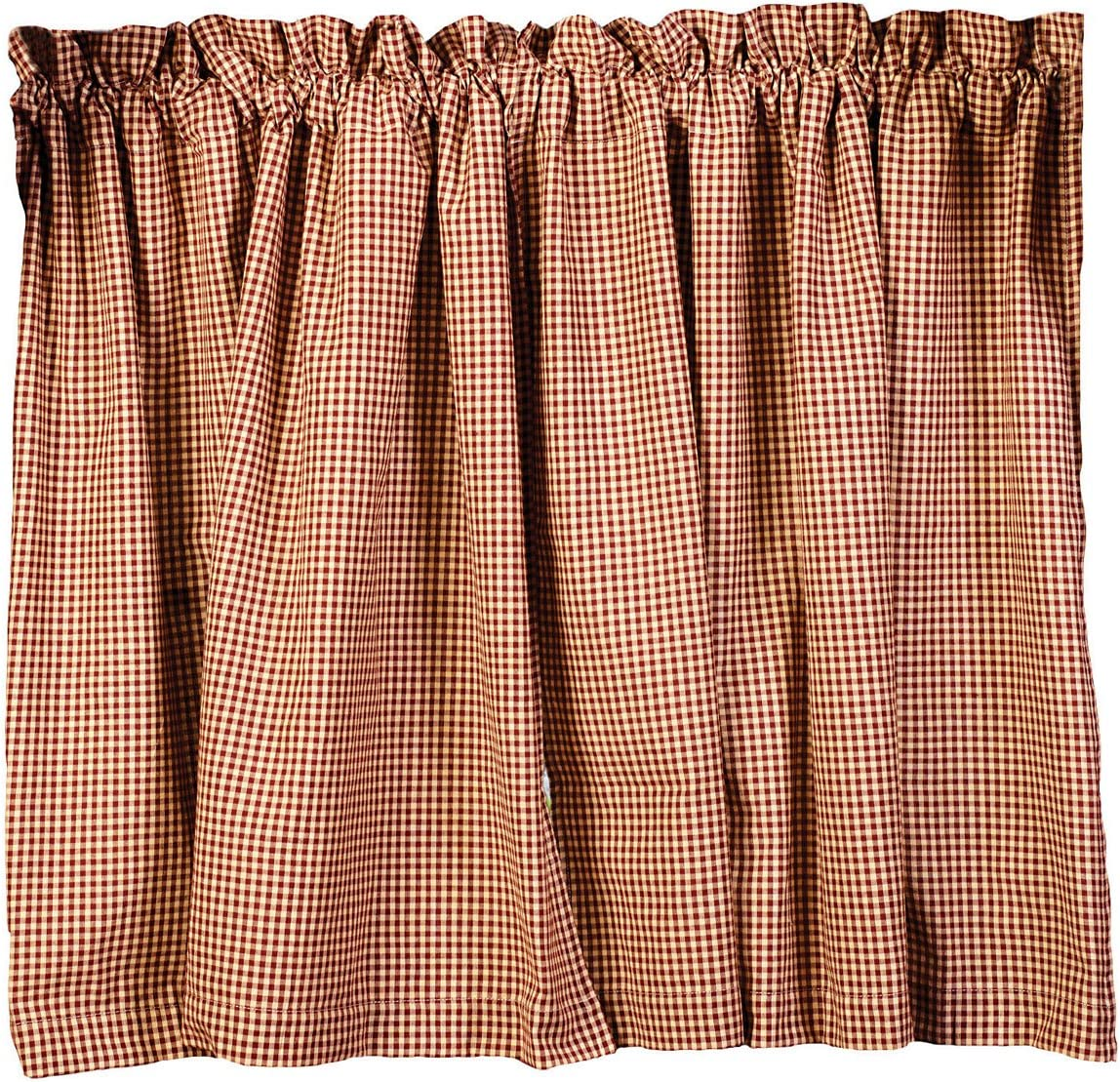 The Country House Collection Stars and Berries 36 Curtain Tiers