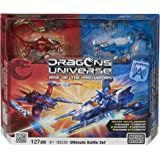 Megabloks - 95239U - Jeu de Construction - Dragons Universe - Bataille Ultime