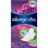 Always Radiant Heavy Feminine Pads with Wings, Scented (Pack of 3) (Package May Vary)