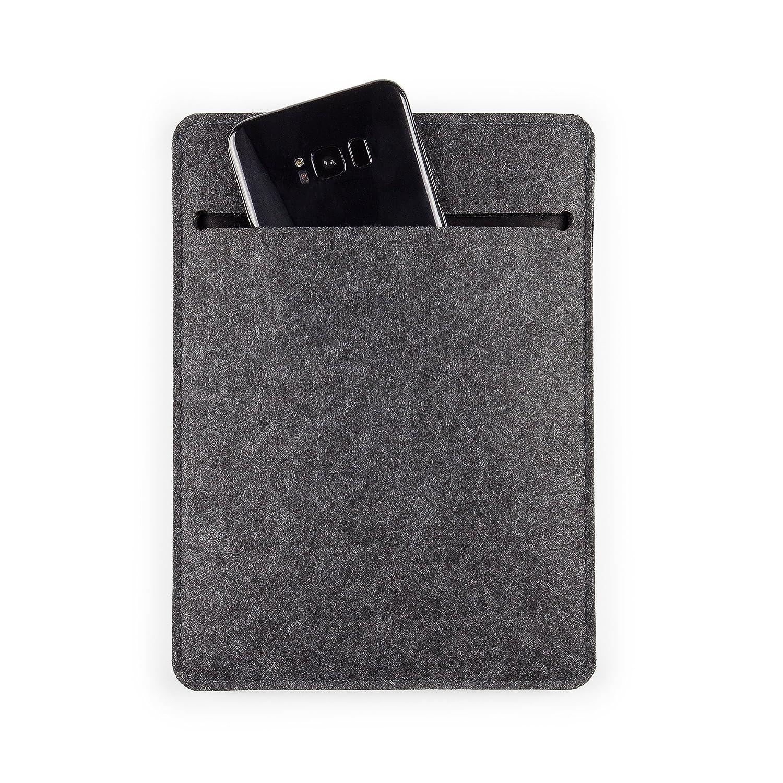 "Hellgrau T/ürkis FORMGUT Tablet Tasche f/ür MacBook Air 13/"" Schutzh/ülle aus Filz"