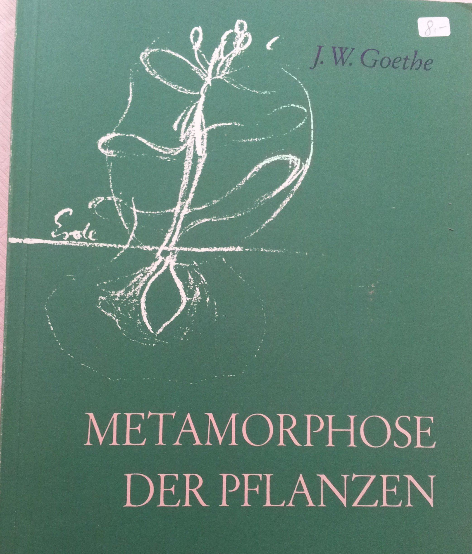Metamorphose der Pflanzen mit Anmerkungen und Einleitung von Rudolf Steiner