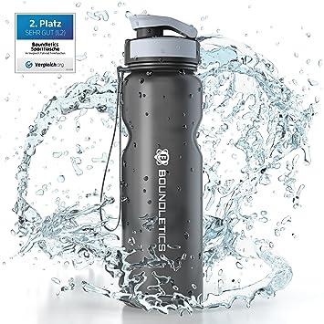Botella Deportiva - 1L BPA Free - La mejor botella reutilizable de agua para niños y