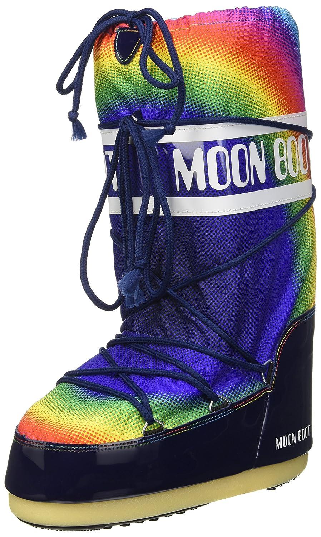 Moon Boot Unisex Rainbow 2.0 Winter Boot - Size 35/38