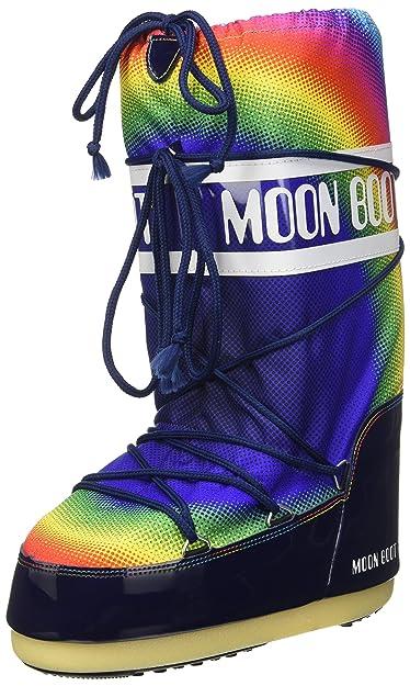 Moon Boot Unisex-Erwachsene New Rainbow 2.0 Outdoor-/Sportschuhe Blau
