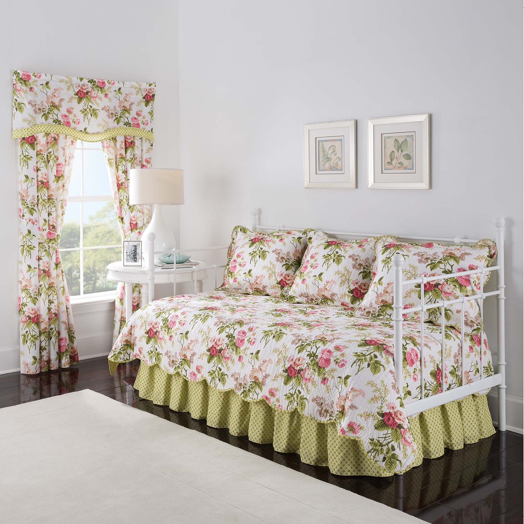Waverly Emma's Garden Daybed Set, 105x54, Blossom
