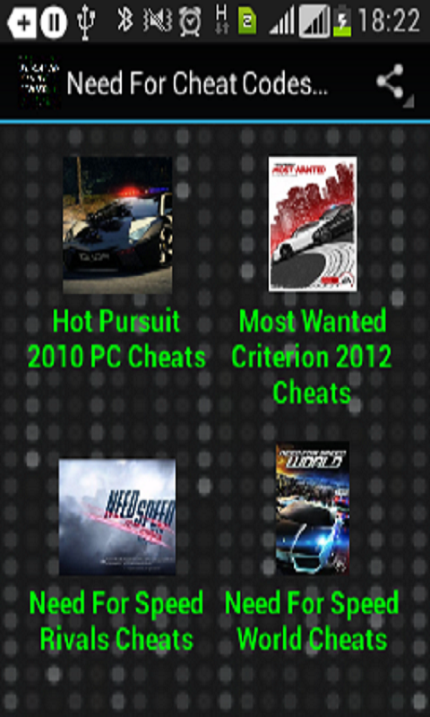 Amazon.com: <b>Need</b> for <b>cheat codes</b> pc: Appstore for Android