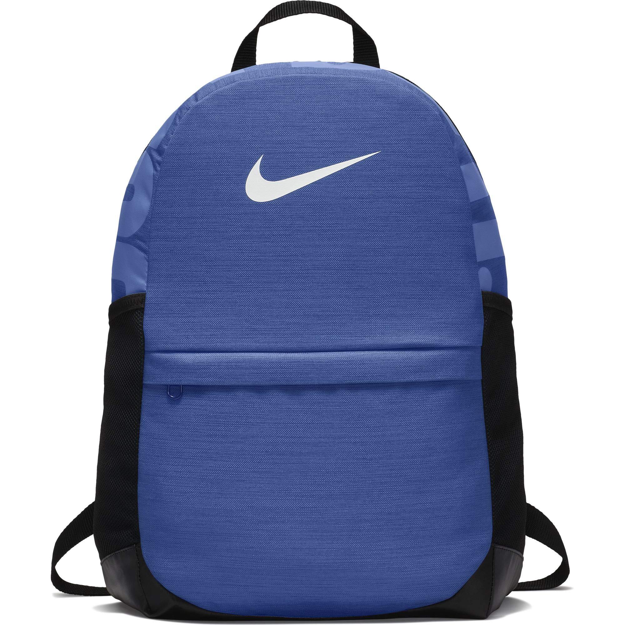 Nike Kid's Brasilia Backpack, Game Royal/Black/White, One Size