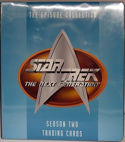 Episode Collection Star Trek the Next Generation Season Four Trading Cards Skybox International