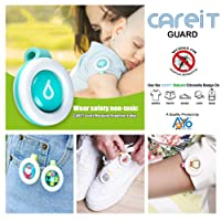 CAREIT Guard Infant's Mosquito Repellent Badge for Outdoor and Indoor Protection (Multicolour)