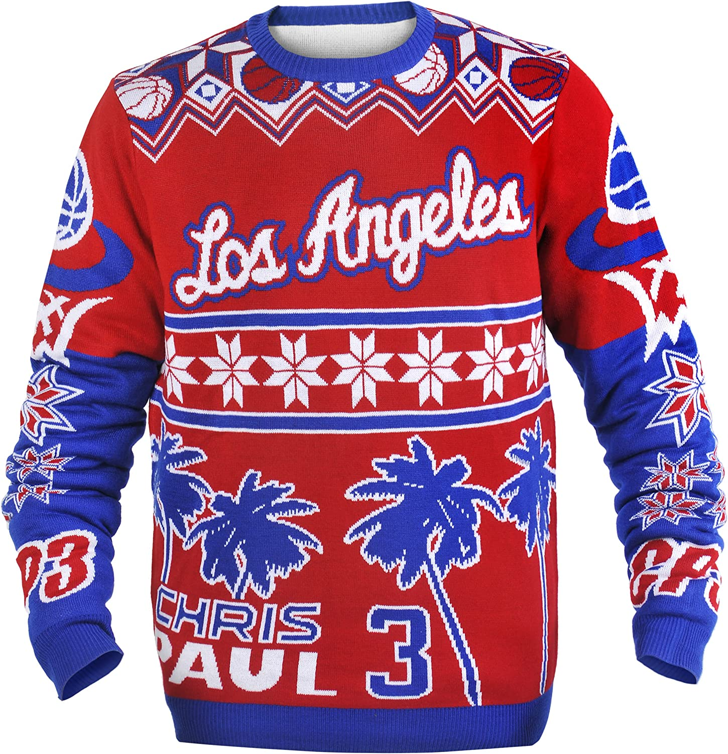 NBA 3D Ugly Sweater