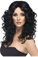Smiffy's Siren Long Curly Wig