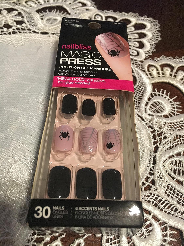 Amazon.com : Nail Bliss magic press gel manicure set kit : Beauty