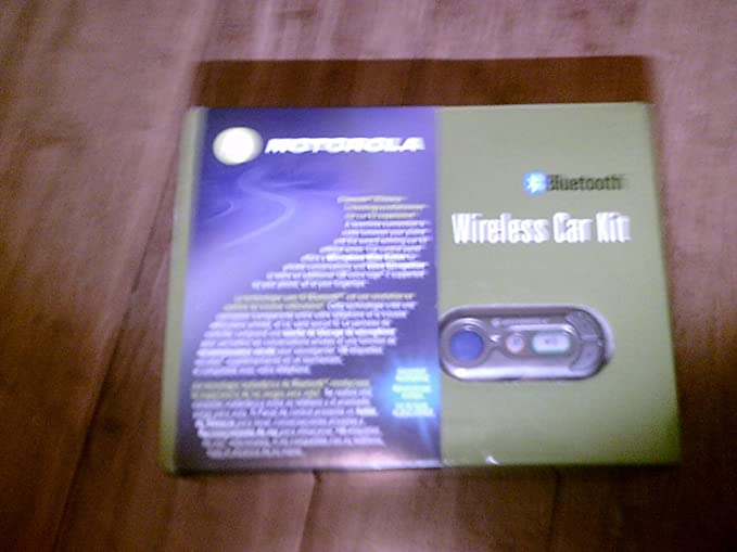 Motorola Wireless Bluetooth Car Kit 98500