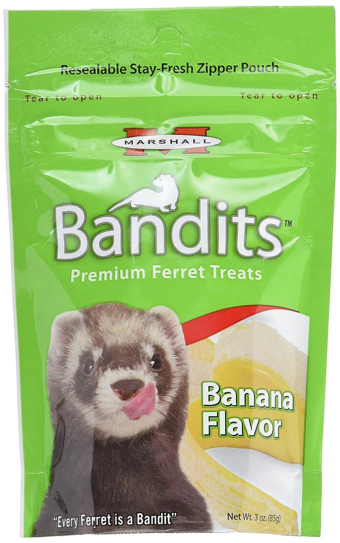 Marshall Products FD-385 Ferret Bandits-Banana 3oz Burgham Sales Ltd.