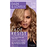 Permanent Hair Color by Dark and Lovely Fade Resist I Up to 100% Gray Coverage Hair Dye I Honey Blonde 378 I SoftSheen…