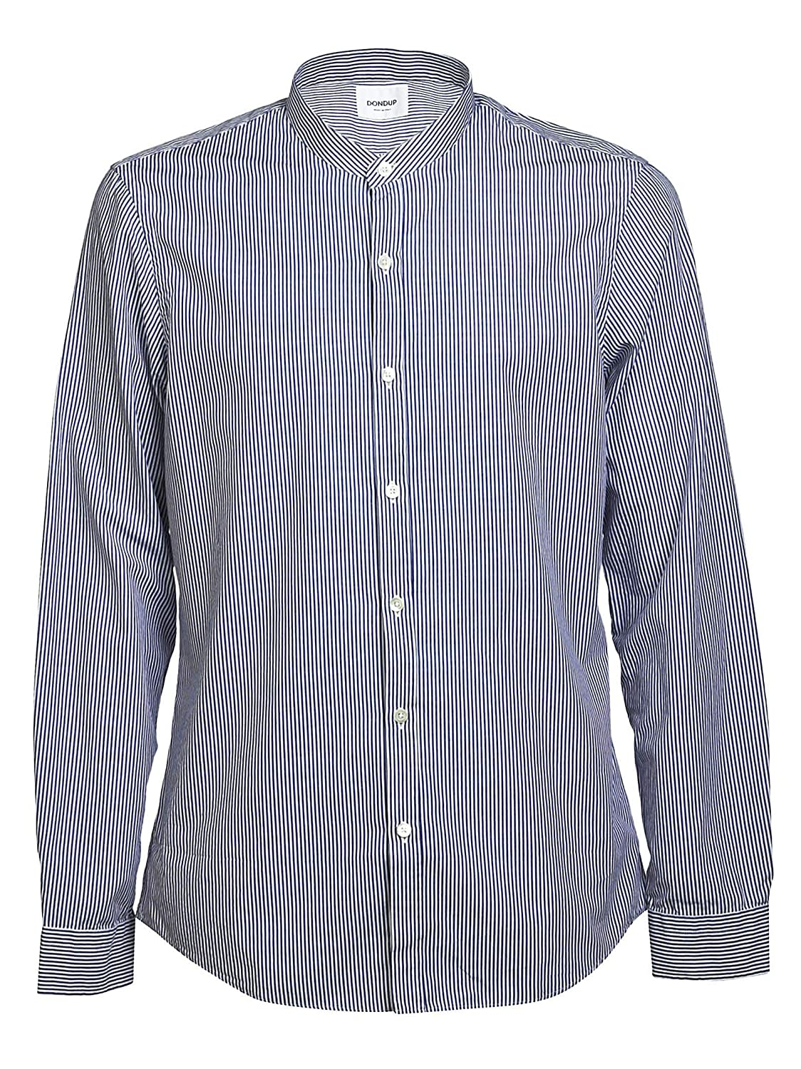 Spring Summer 19 Dondup Luxury Fashion Mens UC207EF049U002810 Light Blue Shirt