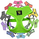 EcoBark Classic Dog Harness Soft Gentle No Pull & No Choke Dog Harnesses Double Padded Halter Ultra Cushioned Walking…