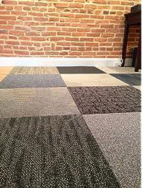 assorted carpet tiles48 ftrandom colors