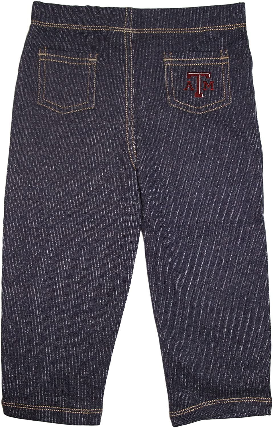 Creative Knitwear Texas A/&M University Aggies Baby and Toddler Denim Jeans