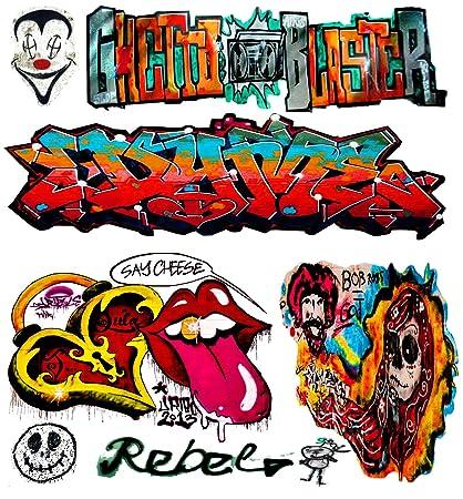 O scale custom graffiti decals 19 weather your box cars hoppers gondolas