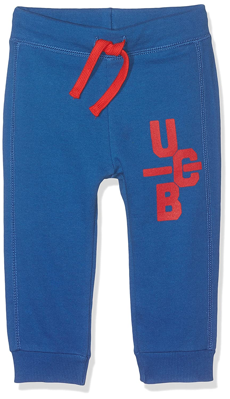 United Colors of Benetton Trousers Pantalones de Deporte, Azul ...