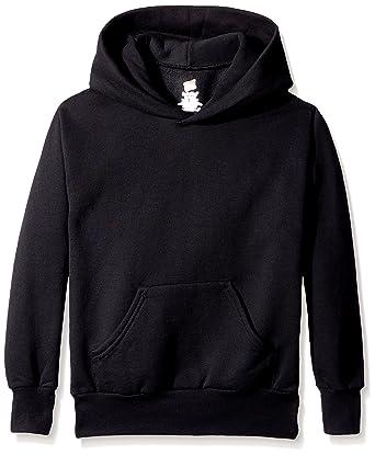 0bdeccfcf099 Amazon.com  Hanes Youth EcoSmart Pullover Hood  Clothing