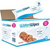 WaterWipes Sensitive Baby Wipes, 12 Packs x 60 Wipes (720 Wipes)