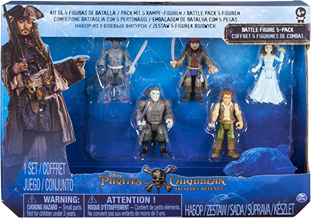 Pirates of the Carribean Figures (Pack of 5) [Import Anglais]