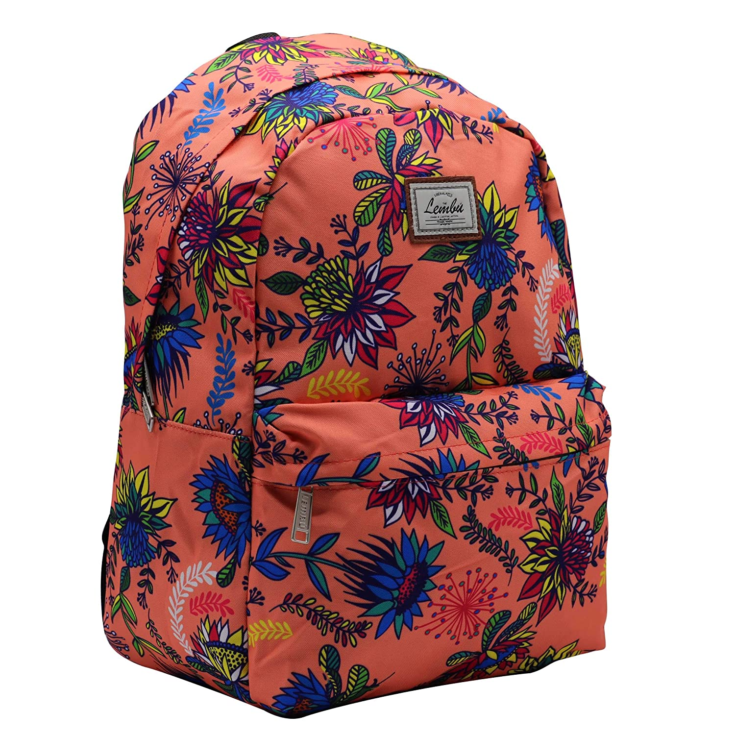 Tropical Lembu School Backpack Kids Bag Travel Back to School Men Women Unisex Lightweight Basic Simple Comfortable Fashion Bag