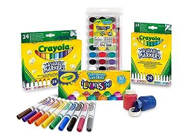 Crayola 7457 Juego De Accesorios Para Dibujar Y Colorear