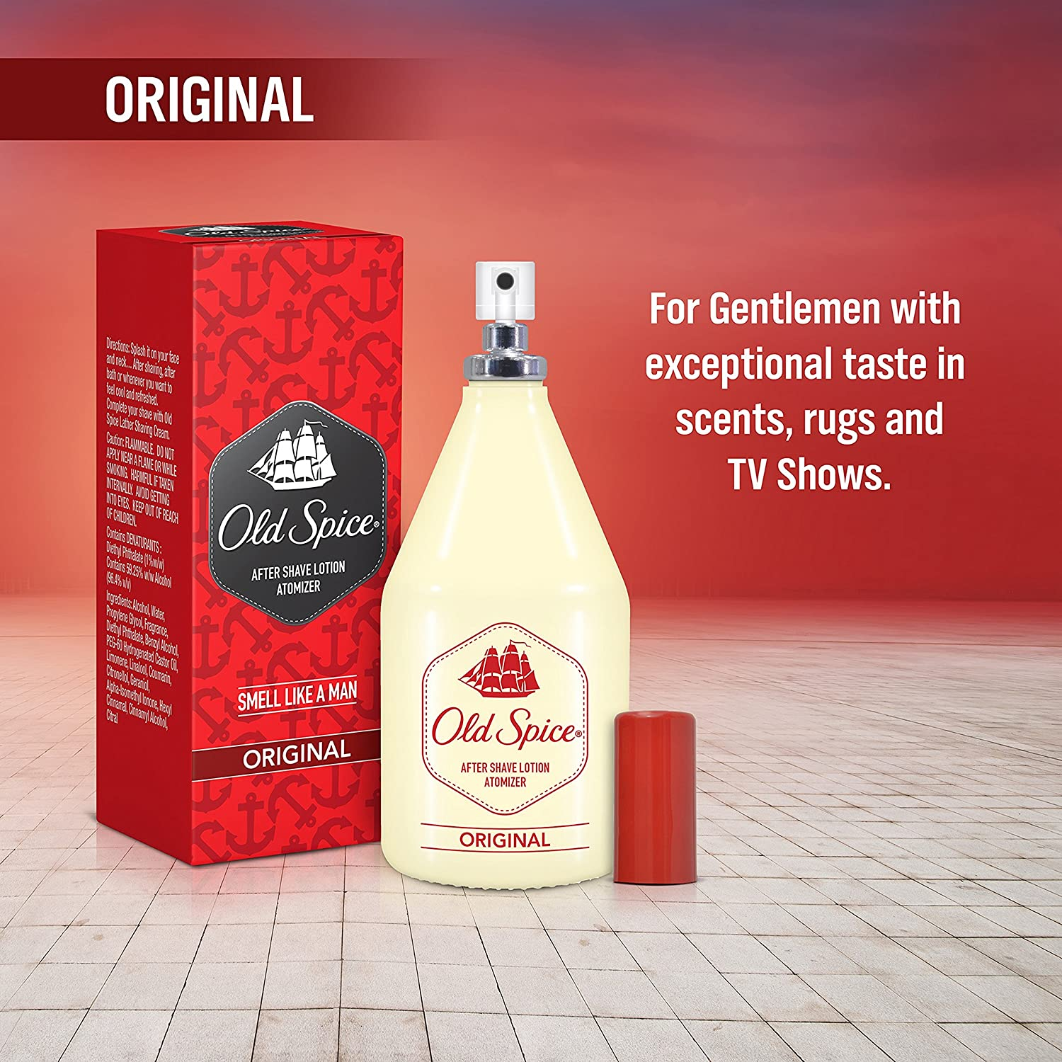 Lower Price with Old Spice After Shave Lotion Original 150 Ml For Men Aftershave Free Shipping Shaving & Hair Removal
