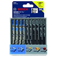 Deals on Bosch T5002 10-Piece Assorted T-Shank Jig Saw Blade Set