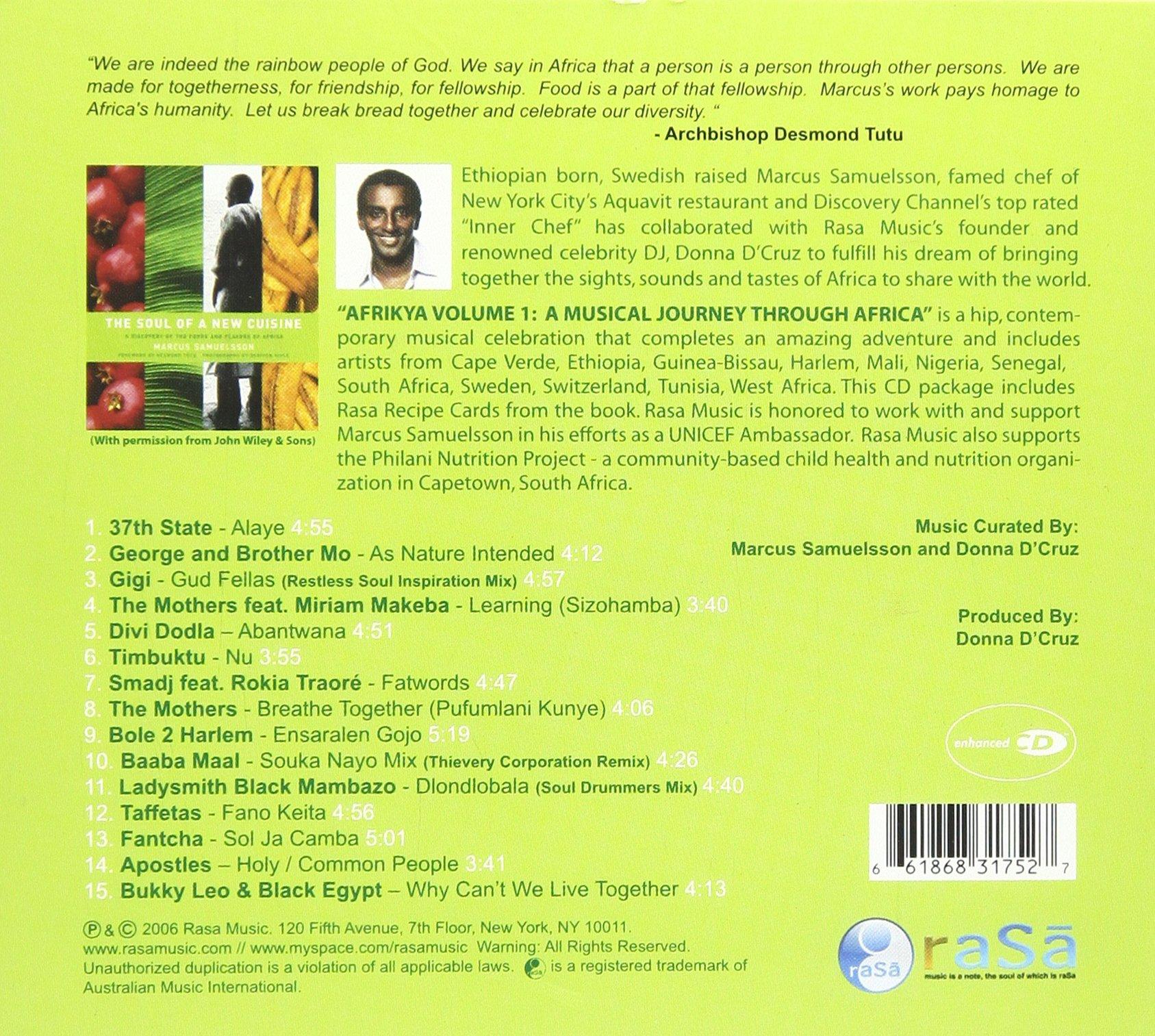 Afrikya Volume 1: A Musical Journey Through Africa