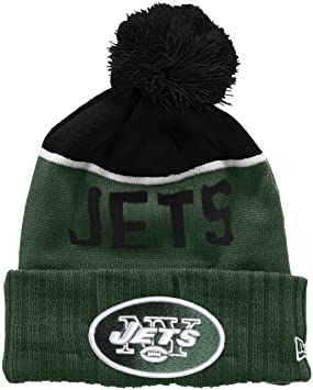 15cd29801d5 New Era Men s NFL Sport Knit New York Jets Beanie