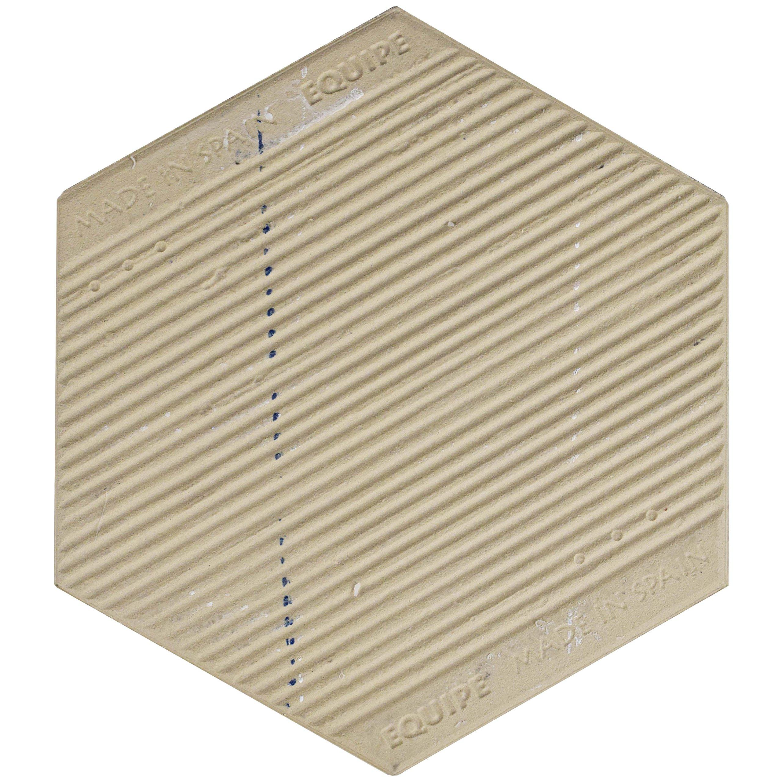 SomerTile FEQCRX Murmur Carrara Hexagon Porcelain Floor & Wall Tile, 7'' x 8'' (Pack of 25) by SOMERTILE (Image #4)