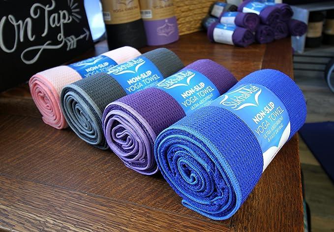 sukhamat antideslizante Yoga caliente toalla - mejor ...