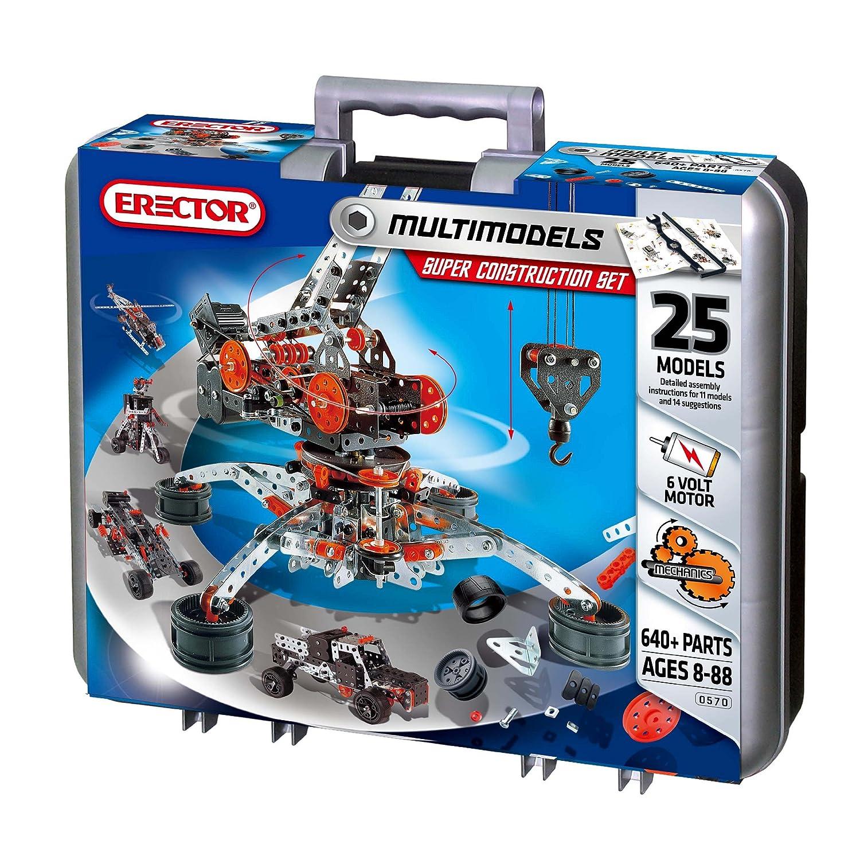 Amazon Erector By Meccano Super Construction Set 25 Motorized