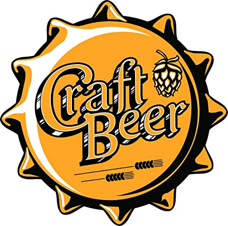 Amazon Com Craft Beer Bottle Cap Brewery Hops Ipa Bar Cartoon Vinyl Sticker 2 Wide Solo Automotive