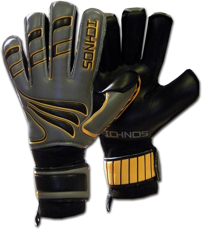 ICHNOS Artemis Magma removable finger saver football goalkeeper gloves adult size