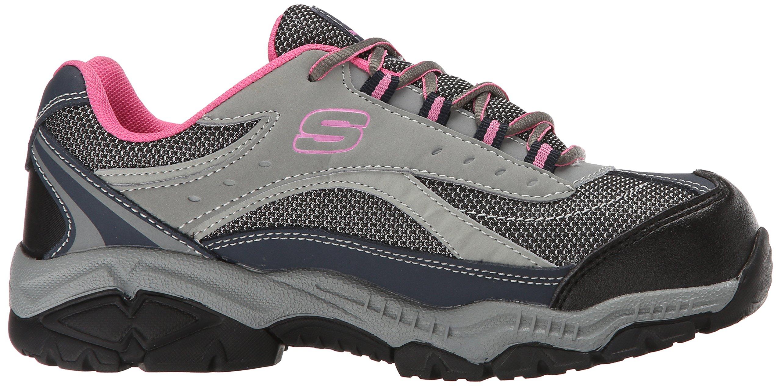 Skechers for Work Women's Doyline Hiker Boot, Gray Pink, 9 M US by Skechers (Image #7)