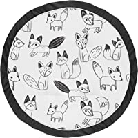 amazon new releases the best selling new future releases in Deer Seat Covers sweet jojo designs black and white playmat tummy time baby and infant play mat for black