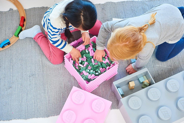 LEGO Storage Brick 1, Bright Pink