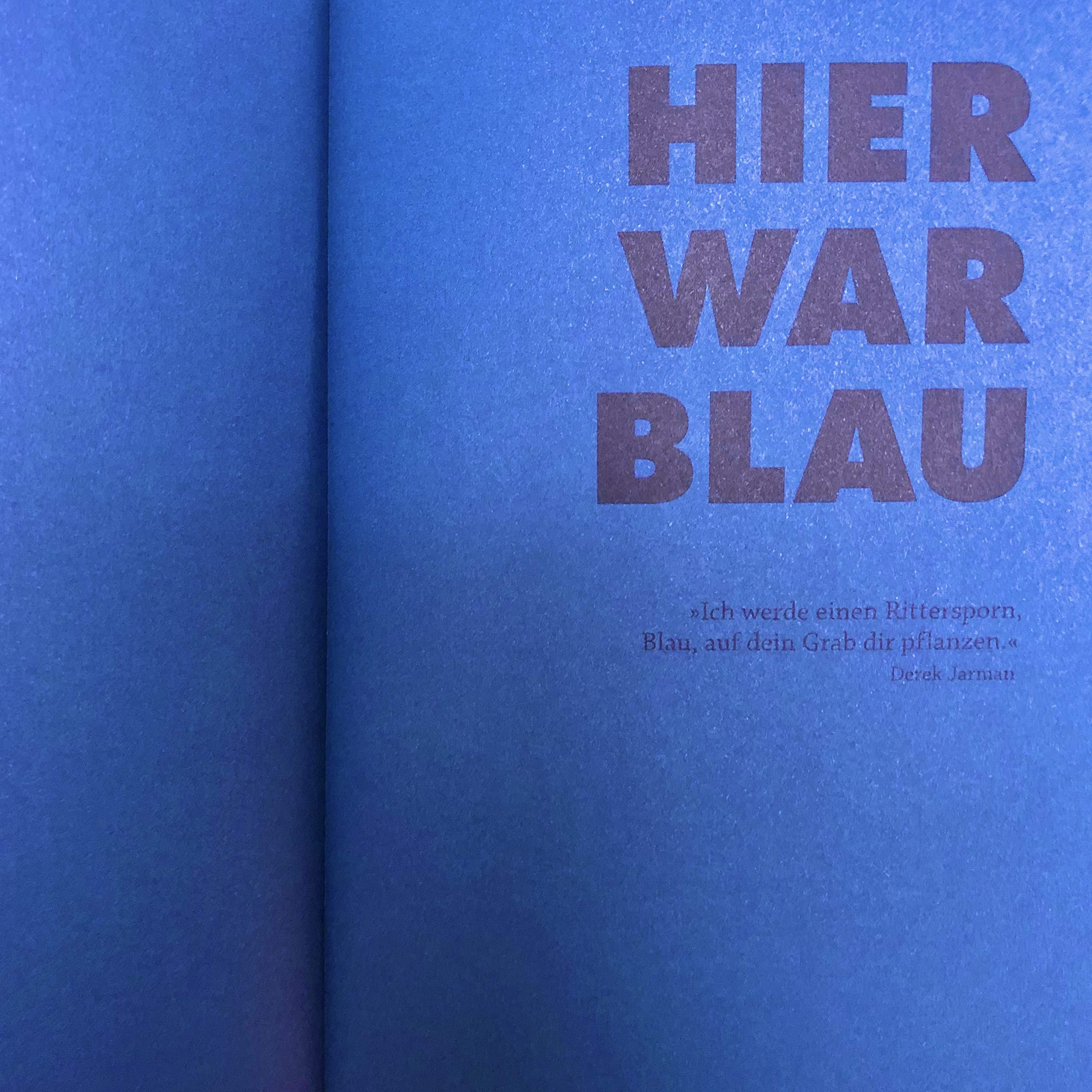 Blau Wie Die Schönheit In Die Welt Kommt Kupferschmidt Kai Bücher
