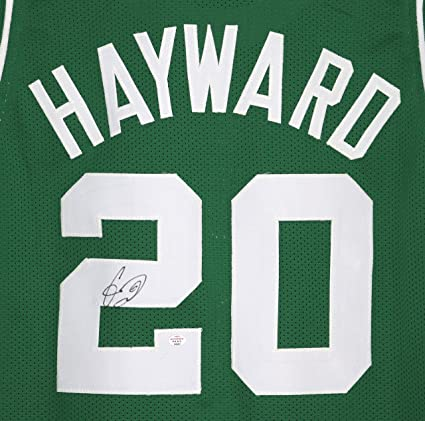 749f0768c7b Image Unavailable. Image not available for. Color  Gordon Hayward Boston  Celtics Signed ...